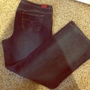 Dark wash Paris blues Torrid size 26 jeans